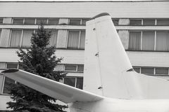 Coda di un aeroplano Immagini Stock