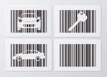 Code ? barres Illustration Stock