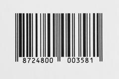 Code à barres Images stock