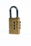 Code. The lock with the code code number Royalty Free Stock Photos