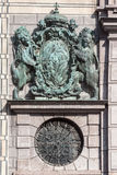 Code of Arms Hofgarten Munich Royalty Free Stock Images