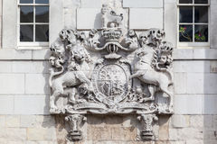 Code of Arms Tower of London England Royalty Free Stock Photo