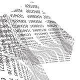 Code background  Stock Image