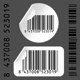 Code bar label Royalty Free Stock Photos