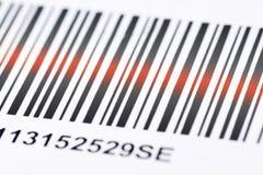 Code barres Photographie stock libre de droits