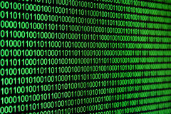 Code binaire Photos stock