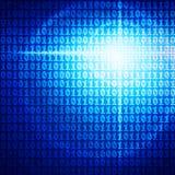 Code binaire Photographie stock libre de droits