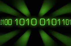 Code binaire Images libres de droits