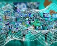 Code binaire Photo libre de droits