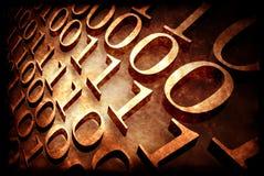 Code binaire Photographie stock
