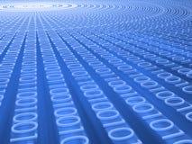 Code binaire Image libre de droits