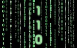Code binaire Images stock
