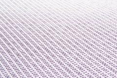 Code binaire abstrait Image libre de droits
