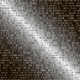 Code binaire Concept de garantie d'Internet Photographie stock libre de droits