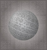 Code binaire global Images libres de droits