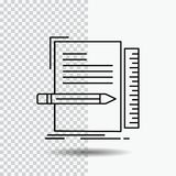 Code, coding, file, programming, script Line Icon on Transparent Background. Black Icon Vector Illustration. Vector EPS10 Abstract Template background stock illustration