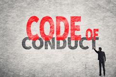 Code Of Conduct Stock Photography