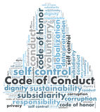 Code of conduct Royalty Free Stock Photos