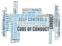 Code of Conduct Royalty Free Stock Image