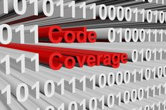 Code coverage Royalty Free Stock Image