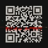 Code de QR photographie stock