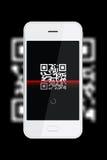 Code de QR Photos libres de droits