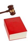 Code des lois pour la cour. images libres de droits