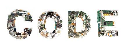 Code electronic Stock Photos