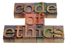Code of ethics Royalty Free Stock Photo