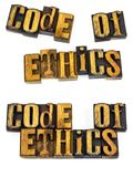 Code of ethics inspiration Stock Images