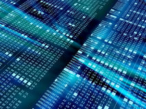 Code hexadécimal Image stock