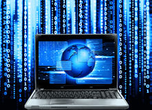 Code informatique image stock