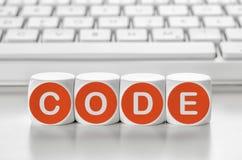 Code Royalty Free Stock Photos