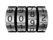 Code lock dial Royalty Free Stock Photo