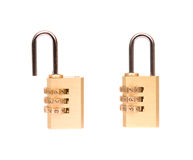 Code lock isolated on white Royalty Free Stock Photos