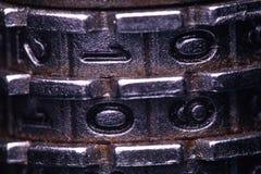 Code lock in macro Stock Images
