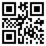 Code moderne de QR photographie stock libre de droits