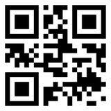 Code moderne de QR images libres de droits