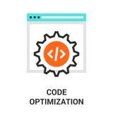 Code optimization icon Royalty Free Stock Photo
