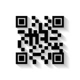 Code qr design Royalty Free Stock Photography