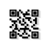 Code qr design Royalty Free Stock Images