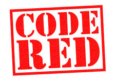 CODE RED Stock Images