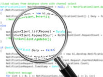 Code Review Royalty Free Stock Photos