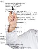 Code source images libres de droits