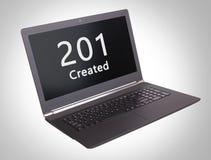 Code statut de HTTP - 201, créé Photo libre de droits