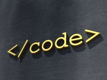 Code symbol Stock Photos
