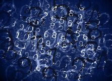 Coded Numbers Stock Image