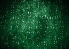Coded Numbers Royalty Free Stock Photo
