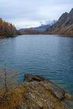 Codelago. Lake codelago in alpe devero during autumn Stock Images