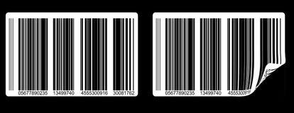 Codes à barres Images stock